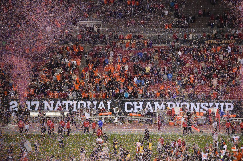 national college football championship game football game schedule today