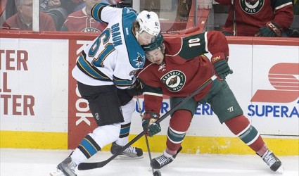 Sharks Face Wild In Minnesota Matinee: Game Preview