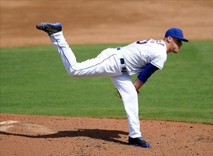 Pitcher Zack Wheeler