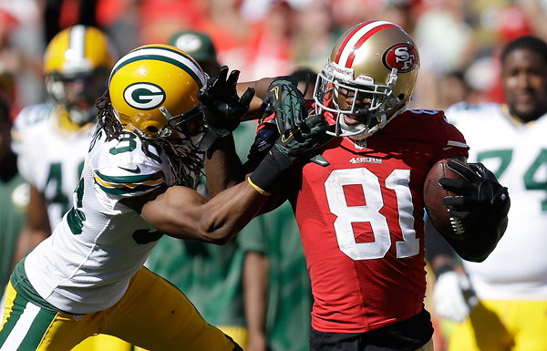 San Francisco 49ers: Anquan Boldin In Beast Mode