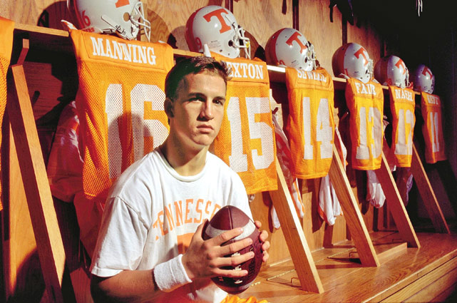Peyton Manning at Tennessee Image Credit: i.cdn.turner.com