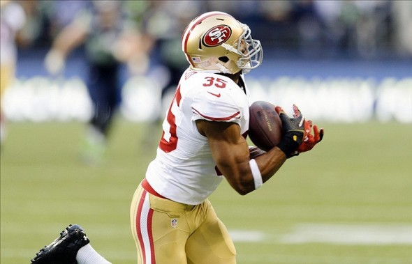 Eric Reid is tied for the 49ers team lead this season with three interceptions. Mandatory Credit: Steven Bisig-USA TODAY Sports