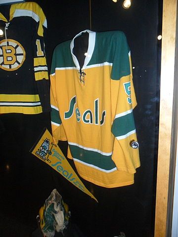 Remember the California Golden Seals! The Bay Area's first NHL team is memorialized at the Hockey Hall of Fame in Toronto. (This file is licensed under the Creative Commons Attribution-Share Alike 3.0 Unported license.)