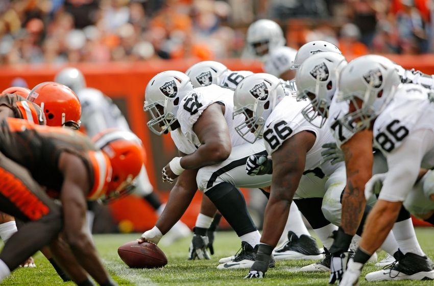 Oakland Raiders: 2015 Oakland Raiders Offensive Line