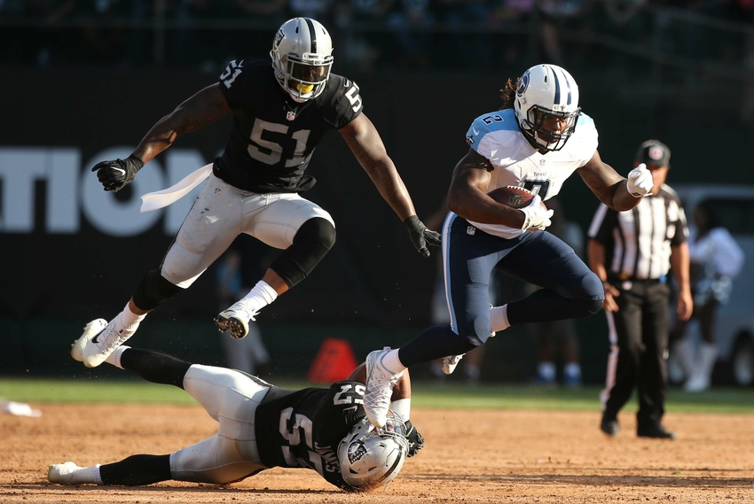 Latavius Murray Burns Titans with Huge, Explosive Touchdown