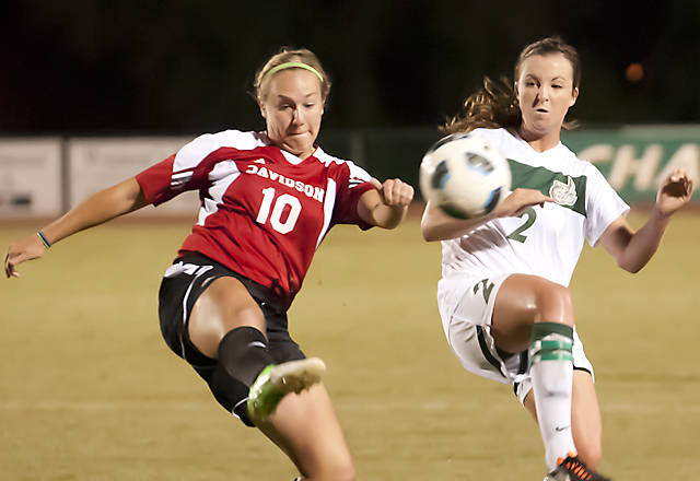 Amanda Jones and the Niners wrap the regular season at Old Dominion tonight. (photo from Charlotte 49ers.com)