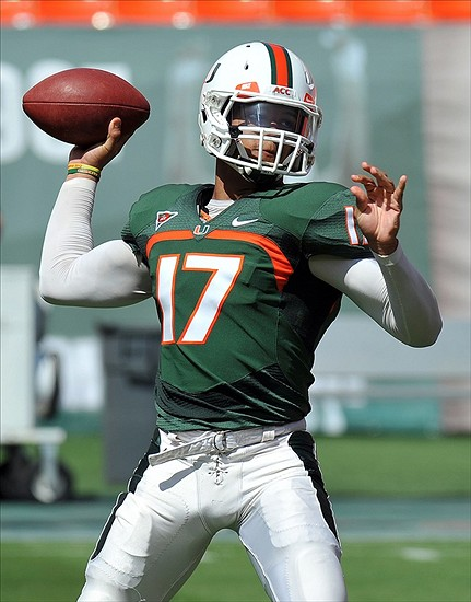 apr 13 2013 miami gardens fl usa miami hurricanes quarterback stephen