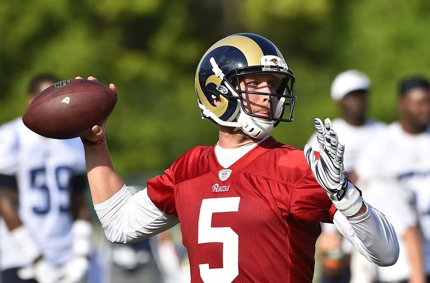 NFL St. Louis Rams Training Camp