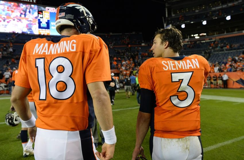 Denver Broncos Name Trevor Siemian Their Starting Qb