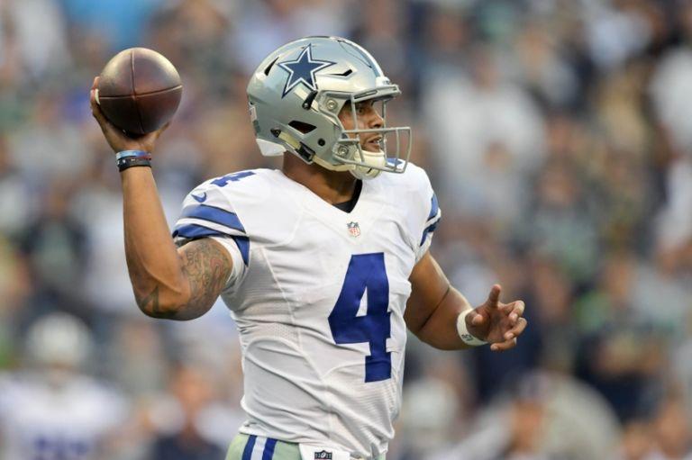 Dallas Cowboys QB Dak Prescott has another strong outing