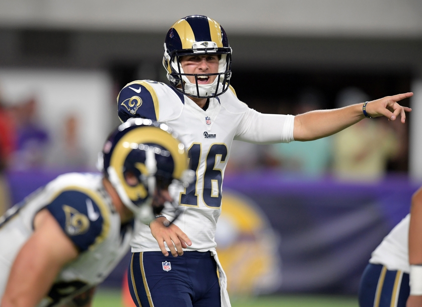 Los Angeles Rams  Why They Really Won t Play Jared Goff  5b241c931