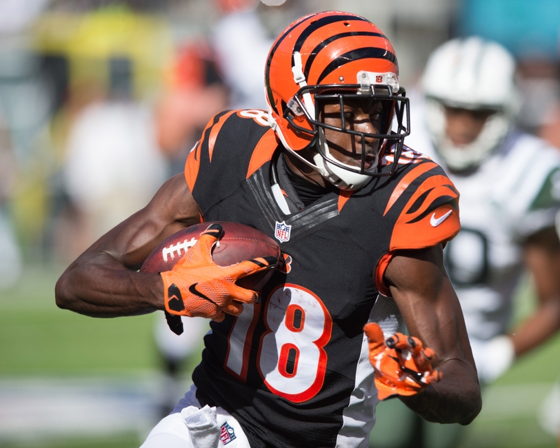 Aj Green One Handed Catch Bengals