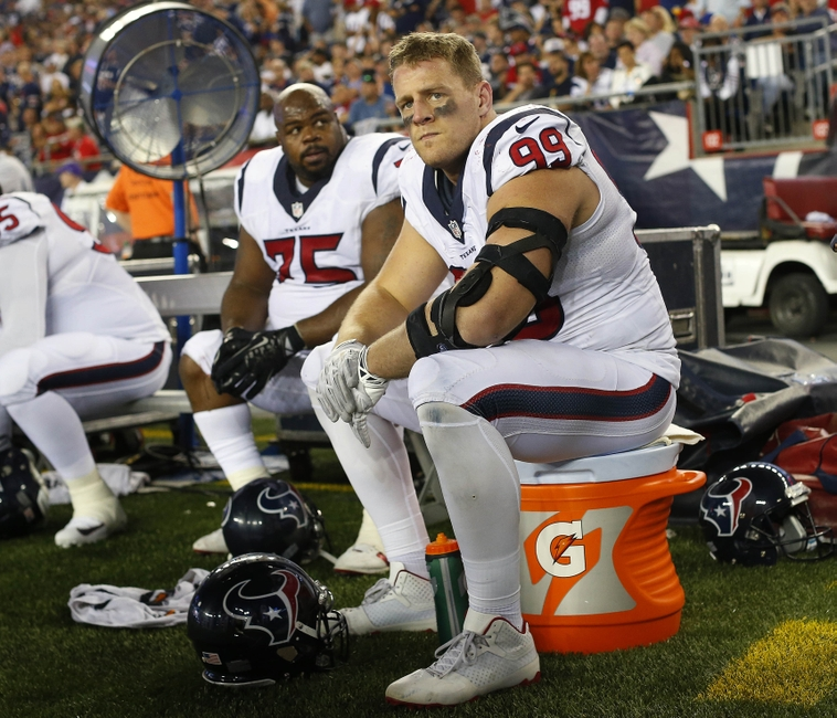 Nfl Combine Bench Record: Texans Superstar J.J. Watt Possibly Done For The Season
