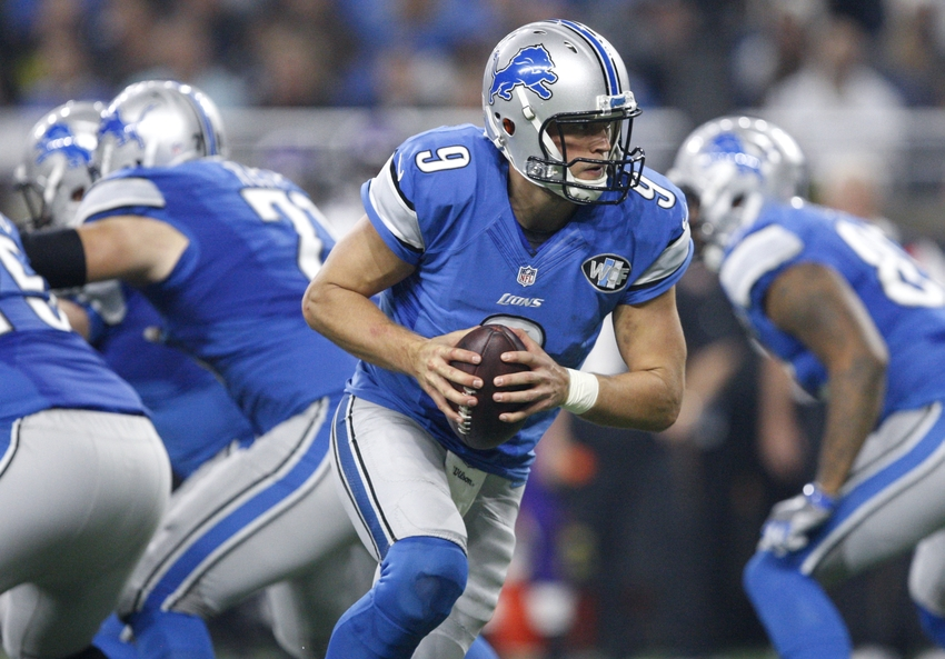 Stafford throws for 341 yards, Lions beat Saints 28-13