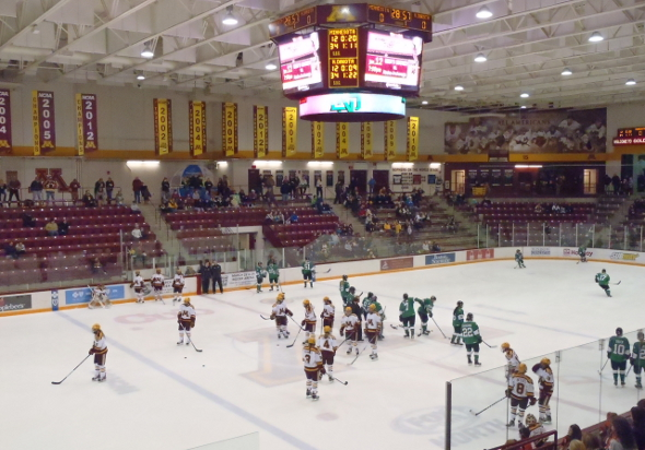 Pregame from Ridder Arena in Minneapolis, MN