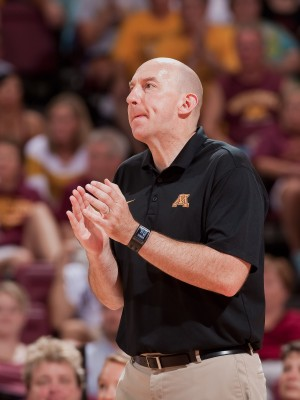 Hugh McCutcheon Minnesota Volleyball head coach
