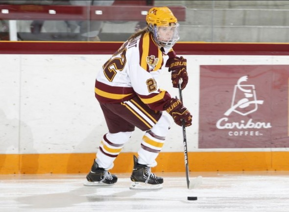 Minnesota women's hockey forward Hannah Brandt