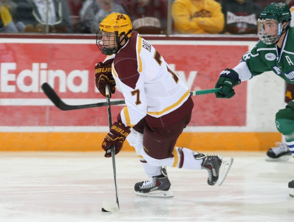 Kyle Rau Gopher Hockey