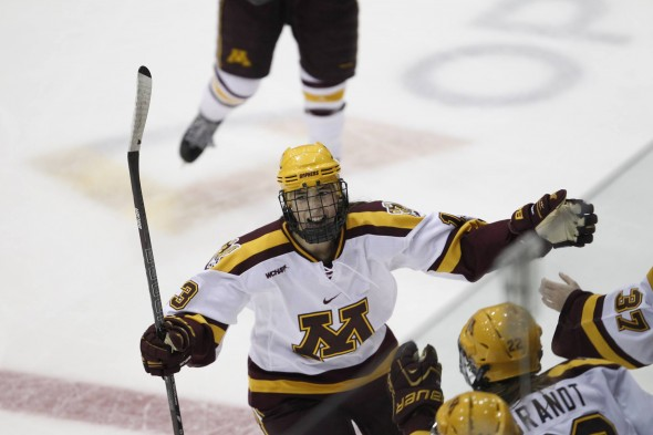 Milica McMillen Gophers Women's Hockey