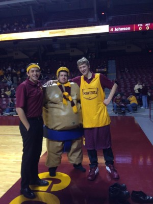 Minnesota Pep Band Sumo Suit