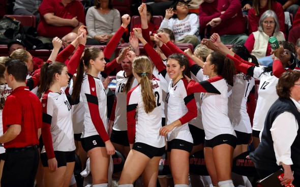Stanford Womens Volleyball Team