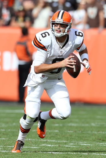 Brian Hoyer Browns Throwing