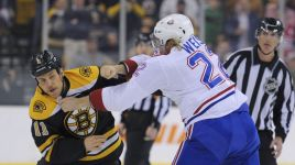 Boston Bruins Shut Out By Habs