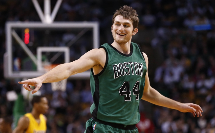 Tyler Zeller Rajon Rondo Power Boston Celtics Past Lakers