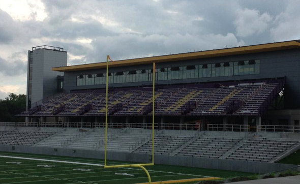 Bob Ford Field, the new home for the Albany Great Danes. Free use image. Mandatory Credit: UAlbany Football (@UAlbanyFootball), twitter.com