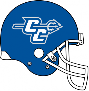Central Connecticut State helmet