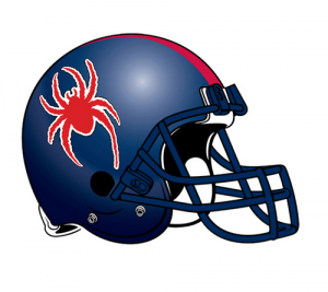 Richmond Spiders helmet