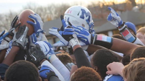 Montclair Mounties football. Free use image. Mandatory Credit: Montclair Mounties (@mhsmounties), twitter.com