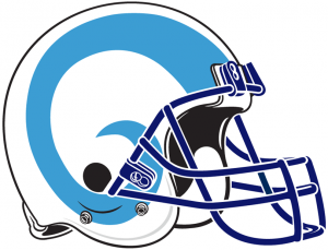 Rhode Island Rams football helmet