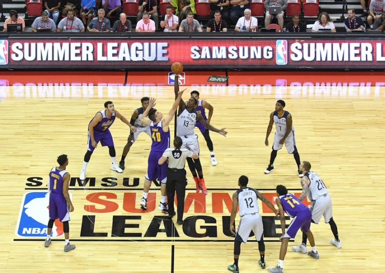 Nba-summer-league-new-orleans-pelicans-vs-los-angeles-lakers-768x546