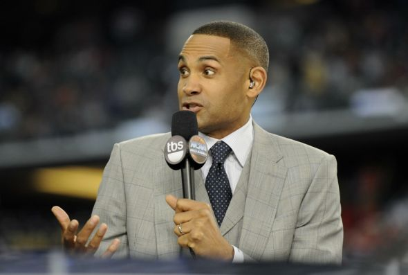 Duke and NBA star Grant Hill, doing commentary for the 2014 NCAA Tournament, was drafted #3 in the 1994 draft. Mandatory Credit: Sean Dougherty-USA TODAY Sports