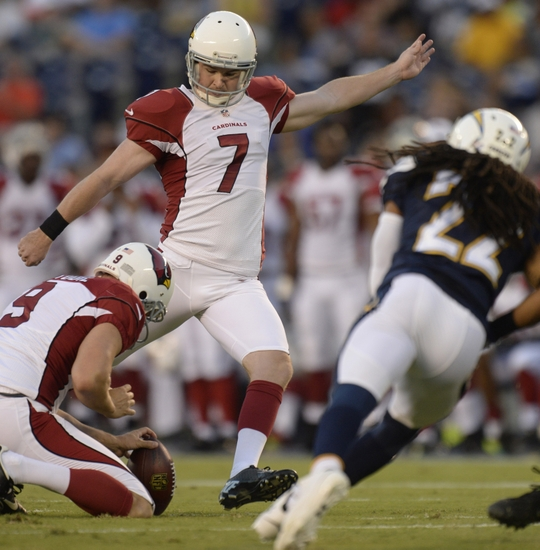 Final San Diego Chargers 12 Arizona Cardinals 9