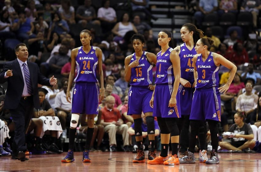 Morning Meltdown - Phoenix Mercury Edition