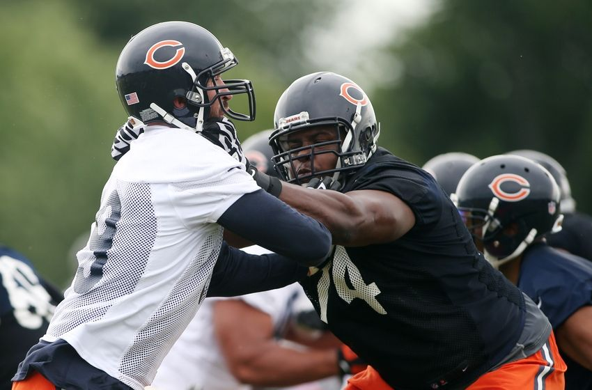 Jul 25 2014 Chicago IL USA Chicago Bears Defensive End Jared