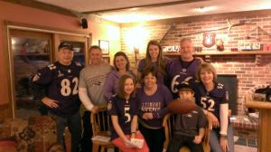 Outstanding Group of Friends and Ravens Fans!