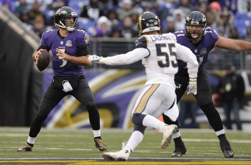 Flacco agrees three-year extension with Ravens