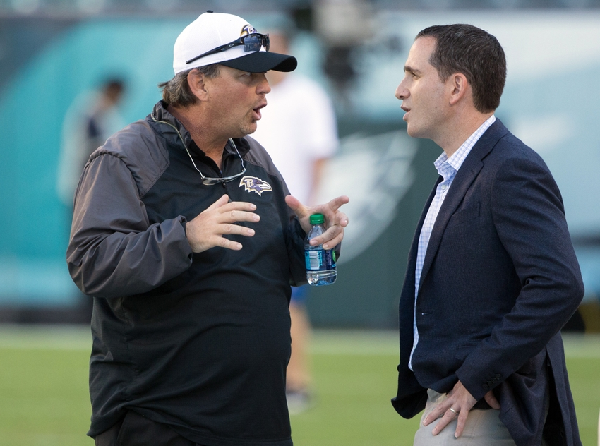 8760683-marty-mornhinweg-howie-roseman-nfl-preseason-baltimore-ravens-philadelphia-eagles