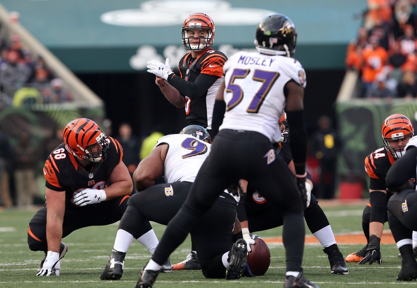Ravens commit holding penalties, take safety to seal win vs. Bengals