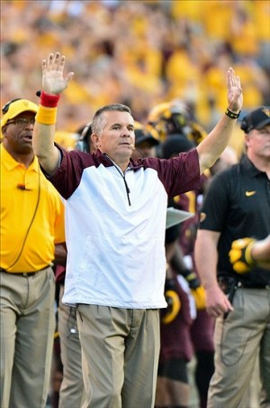 Arizona State Sun Devils head coach Todd Graham