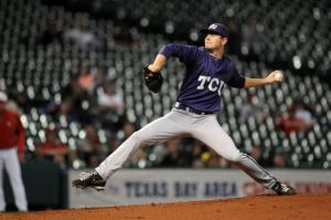 TCU left-handed starter Tyler Alexander shut down Oklahoma State on one run and four hits in leading the Horned Frogs to their first Big 12 Baseball Tournament championship on Sunday.