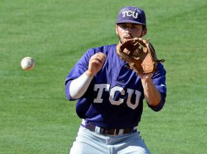 TCU is one game away from the Big 12 postseason championship. The Horned Frogs are undefeated through three tournament games and await the winner of Saturday night's game between top-seed Oklahoma State and Texas.
