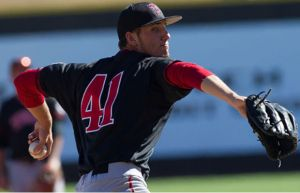 Texas Tech freshman left-hander Dylan Dusek won his eighth game of the season without a loss and pitched the Red Raiders to their first-ever College World Series with a 1-0 shutout over College of Charleston.