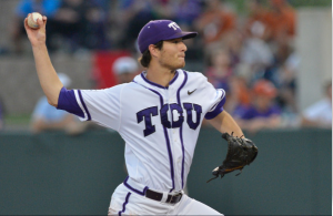 TCU right-handed starter Preston Morrison has been named a second-team All-American by both Baseball America and the National Baseball Writers Association.
