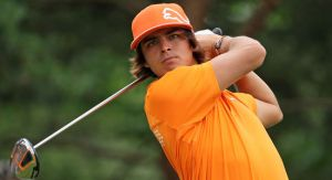Rickie Fowler, formerly of Oklahoma State, is tied for 14th at the 2014 U.S. Open Golf Championship after 36 holes with a score of even-par 140.