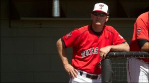 Texas Tech baseball coach Tim Tadlock