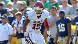 Oklahoma sophomore cornerback Zach Sanchez, one of three Big 12 players on the 2014 preseason watch list for the Jim Thorpe Award.